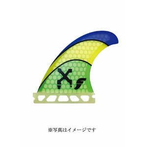 【新品】FUTURE(フューチャー)RTM HEX XANADU FIN[GREEN/YELLOW/Blue]11.4cm フィン 3枚セット|arasoan