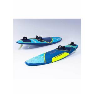【メーカーお取り寄せ】STARBOARD(スターボード) KODE  FLAX BALSA[BLUE×YELLOW] 95 ウインドサーフィン フィン付き|arasoan