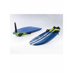 【メーカーお取り寄せ】STARBOARD(スターボード)   FUTURA   FLAX BALSA [BLUE×YELLOW] 97 ウインドサーフィン フィン付き|arasoan