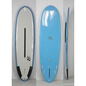 【新品】Hawaiian Pro Designs(ハワイアンプロデザイン) SCORPION 2  サーフボード [BLUE/GRAY] 6'10