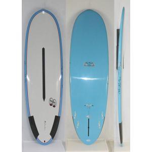 【新品】Hawaiian Pro Designs(ハワイアンプロデザイン) SCORPION 2  サーフボード [BLUE/GRAY] 6'4