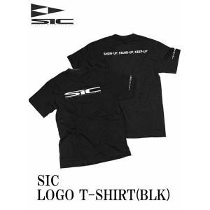【新品】 SIC(エスアイシー) LOGO T [BLACK] ロゴ Tシャツ サイズ L|arasoan