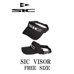 【新品】 SIC(エスアイシー) VISOR [BLACK] サンバイザー FREEサイズ SIC MAUI|arasoan
