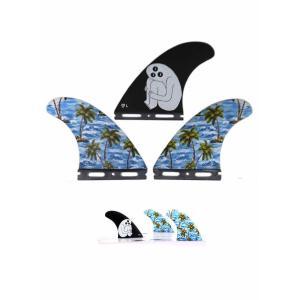 新品 GORILLA FIN【SLOTH PALM SHANK TRI FIN SET】LARGEサイズ ゴリラフィン Single Tad FUTURE 大特価品!! arasoan
