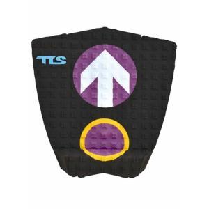 【新品】TOOLS (ツールス) サーフボード用  デッキパッド JOB  ジェイミー・オブライアン シグネイチャー モデル 【Black×Purple】  DECK PADS|arasoan