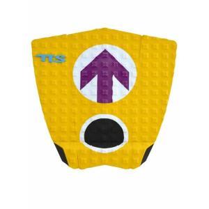 【新品】TOOLS (ツールス) サーフボード用  デッキパッド JOB  ジェイミー・オブライアン シグネイチャー モデル【Yellow】  DECK PADS|arasoan