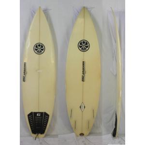 【中古】HIC SURF BOARD ( エイチアイシー サーフボード ) Eric Arakawa ハンドシェイプ クァッド ショートボード [CLEAR] 5'10