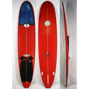 【中古】Fantasyislandsurfbord(ファンタジーアイランドサーフボード)サーフボード [Red] 9'0