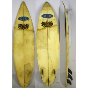 【中古】WSP surfboards サーフボード [clear] 6'0