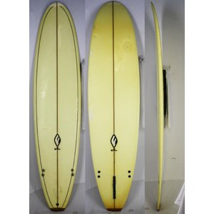 【中古】efu surfboards サーフボード [clear] 8'0