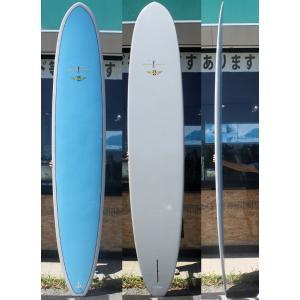 【中古】ROBERT AUGUST(ロバートオーガスト)surftech タフライト サーフボード [Blue] 320cm ロングボード arasoan