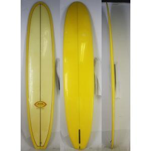 【中古】BING SURF BOARDS(ビング)Lightweightモデル サーフボード [Yellow] 295.5cm ロングボード arasoan