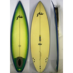 【中古】RUSTY(ラスティ)C5モデル サーフボード [brush] 6'0