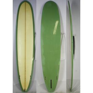 【中古】Ken Fujiwara(フジワラ・ケン) サーフボード [clear/green] 9'0