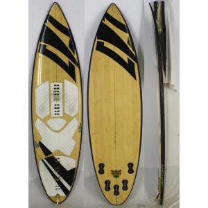 【中古】NAISH(ナッシュ) GLOBALモデル サーフィン ボード  [bamboo] 5'5