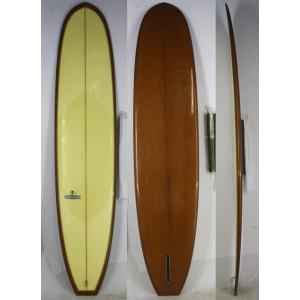 【中古】YU SURF CLASSIC(YUサーフクラシック) サーフボード [clear/Brown] 9'4