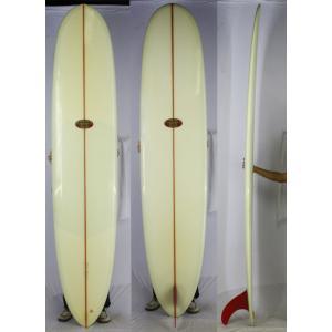 【中古】Hawaiian Pro Designs (ハワイアンプロデザイン) ドナルドタカヤマ Takayama Shape サーフボード [clear] 9'3