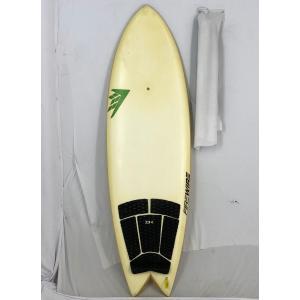 【中古】FIREWIRE(ファイヤーワイヤー)QUAD FISHモデル サーフボード[clear] 5'10