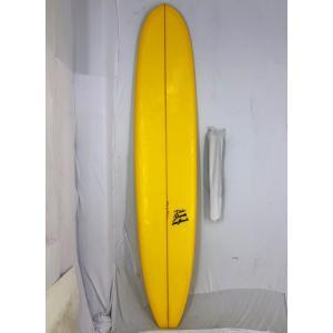 【中古】DICK BREWER SURFBOARD (ディックブルーワーサーフボード)Shaped by Shimoju サーフボード[Yellow] 9'4