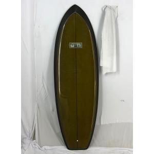 【中古】Jeff McCallum(ジェフマッカラム) サーフボード [Brown] 5'10