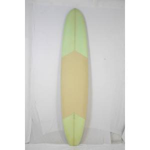 【中古】 GATO HEROI (ガトヘロイ) ロングボード [GREEN×BEIGE]サーフボード|arasoan