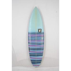【中古】ZBURH CUSTOM SURF BOARDS (ゼブラカスタムサーフボード) ショートボ...