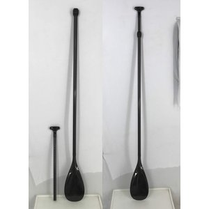 【極上中古】ノーロゴ Carbon Paddle フルカーボン素材 WK-A [176-215cm] 2ピース アジャスタブル 長さ調節付き  SUP用 パドル|arasoan