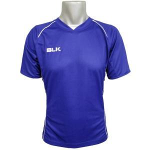 BLK トレーニングティーシャツ ブルー AR008-041 ラグビー ブラック Tシャツ