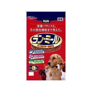 日清ペットフード ラン・ミール ビーフ&バターミルク味 8Kg  ペット用品|araya