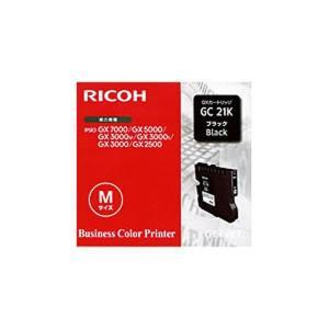 〔純正品〕 RICOH リコー インクカートリッジ/トナーカートリッジ 〔GC21K BK ブラック〕|araya
