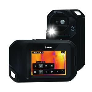 赤外線サーモグラフィー(熱画像装置) コンパクト/ポケットサイズ スーパーファインコントラスト搭載 フリアーC2|araya