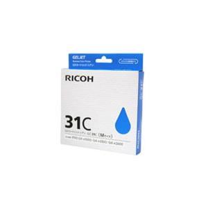 〔業務用5セット〕〔純正品〕 RICOH リコー インクカートリッジ/トナーカートリッジ 〔GC31C C シアン〕 ×5セット|araya