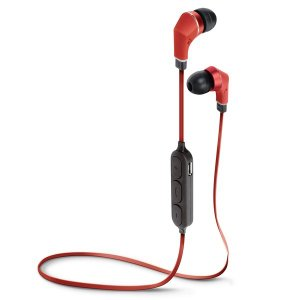 PGA Bluetooth 4.1搭載 ワイヤレス ステレオ イヤホン レッド PG-BTE1S03|araya