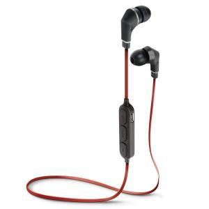 PGA Bluetooth 4.1搭載 ワイヤレス ステレオ イヤホン レッド&ブラック PG-BTE1S05|araya