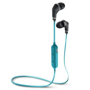 PGA Bluetooth 4.1搭載 ワイヤレス ステレオ イヤホン ブルー&ブラック PG-BTE1S06|araya