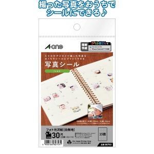 日本製 made in japan A-one写真シール30片Icon20×20mm80753 32-982 〔10個セット〕|araya