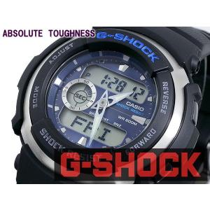 カシオ CASIO Gショック G-SHOCK Gスパイク 腕時計 G300-2A ブルー|araya