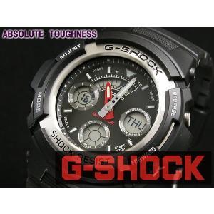 カシオ CASIO Gショック G-SHOCK アナデジ 腕時計 AW590-1A ブラック|araya