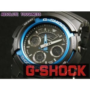 カシオ CASIO Gショック G-SHOCK アナデジ 腕時計 AW591-2A|araya