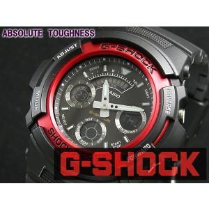 カシオ CASIO Gショック G-SHOCK アナデジ 腕時計 AW591-4A|araya