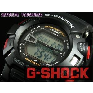 カシオ CASIO Gショック G-SHOCK マッドマン 腕時計 G-9000-1 ブラック|araya