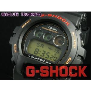 カシオ CASIO Gショック G-SHOCK ベーシック 腕時計 DW-6900G-1VQ ブラックブラック|araya