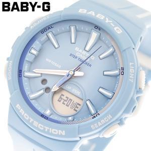 カシオ CASIO ベビーG BABY-G 腕時計 レディース クオーツ BGS-100RT-2ADR ブルー ブルー|araya