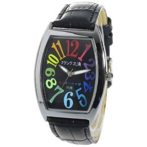 フランク三浦 インターネッツ別注 メンズ 腕時計 FM00IT-CRBK ブラック/ブラック 【ネット限定】 ブラック|araya