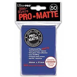 【新品】TC UltraPRO プロマット デッキプロテクタースリーブ 通常[91×66mm](ブルー)50枚入<ウルトラプロ> arc-online-mini