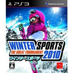 【新品】PS3 ウインタースポーツ 2010 -The Great Tournament-|arc-online-mini