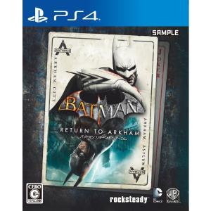 【新品】PS4 バットマン:リターン・トゥ・アーカム