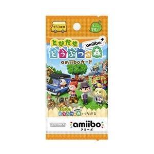 【新品】amiiboカード とびだせ どうぶつの森 amiibo+(1パック3枚入り)<任天堂> arc-online-mini