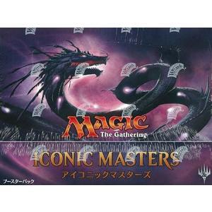 【新品】MTG マジック:ザ・ギャザリング アイコニックマスターズ ブースター 日本語版 : BOX 【24パック入】 arc-online