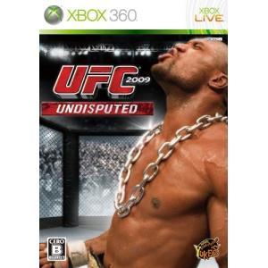 【留意商品】X360 UFC 2009 Undisputed(アンディスピューテッド)|arc-online